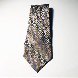 Crazy Horse, %100 Silk Claiborne Neckties